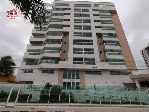 Apartamento Com 2 Dormitórios À Venda, 73 M² Por R$ 379.000,00 - Jardim Marina - Mongaguá/sp - Ap2897