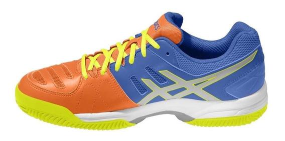 Tênis Asics Gel Dedicate 5 Clay Azul E Amarelo