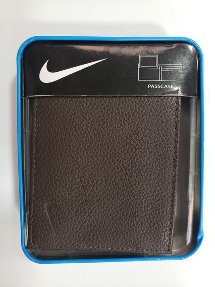 Billetera Marca Nike Para Caballero Color Negro Sport
