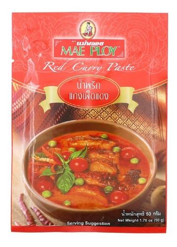 Pasta De Curry Rojo Tailandes 50g - Kg - kg a $6500