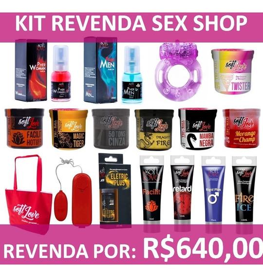Kit Revenda Sex Shop Produtos Top Lubrificantes Vibradores