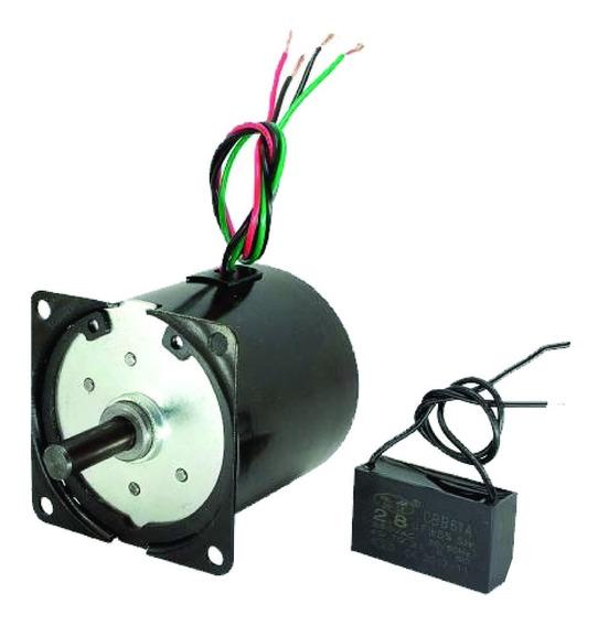 Micro Motor Ca C/ Cx Red 110v Ac 70kgf.cm 5rpm Alto Torque