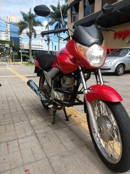 Vendo Cg Titan Ks 150 2010 Vermelha