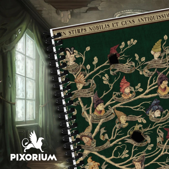Libreta Anotador Harry Potter Bloc Espiral A6 (100x140 Mm)