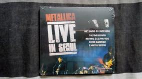 Cd Metallica - Live In Seoul - Digipack (lacrado De Fábrica)