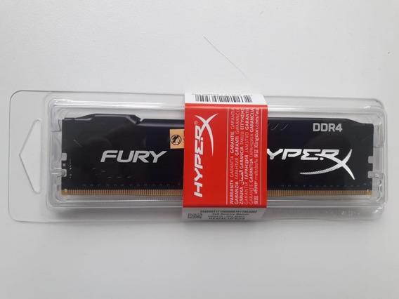 Memoria 8gb Ddr4 2400 Hyper-x Fury Black - Hx424c15fb2/8