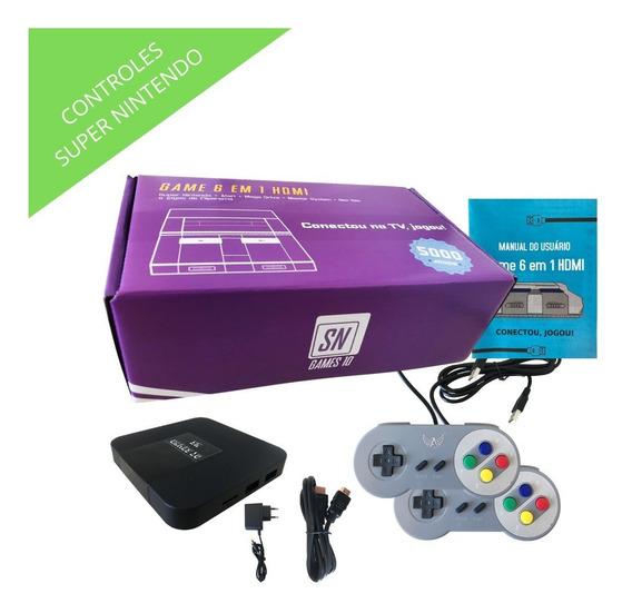 Super Nintendo Original 5mil Melhores Jogos - Leia Descrição