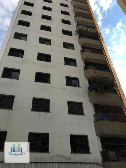 Apartamento Com 3 Dormitórios Para Alugar, 120 M² Por R$ 4.500/mês - Campo Belo - São Paulo/sp - Ap3385