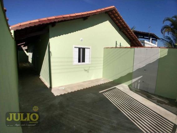 Entrada R$ 31.800,00 Mil + Saldo Super Facilitado. Casa Com 2 Dormitórios À Venda, 60 M² Por R$ 165.000 - Jussara - Mongaguá/sp - Ca3506