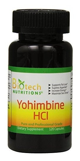 Suplemento Dietético De Biotecnología Yohimbine Hcl De Bio