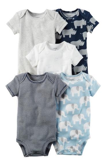Carters Body Kit 5 Peças Menino Bebê Original - Promoção