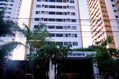 Imagem 1 de 15 de Apartamento Para Venda Em Natal, Lagoa Nova - Ed. Cantera, 2 Dormitórios, 1 Suíte, 2 Banheiros, 1 Vaga - Ap1235-ca_2-988071
