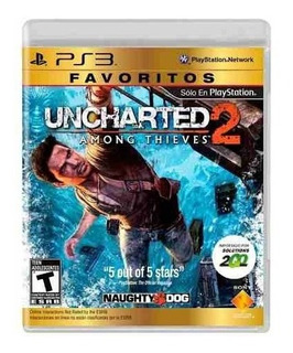 Juego Ps3 Uncharted 2 Among Thieves