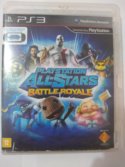 Playstation All Stars Battle Royale - Ps3