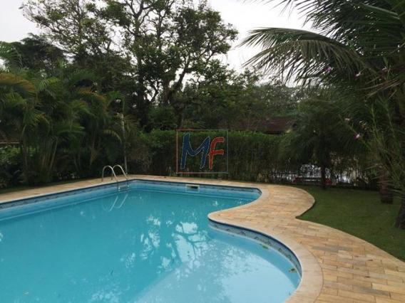 Ref 4177 - Linda Casa 4 Suites, Mobiliada , Piscina , 4 Vgs Cond Park Imperial -praia De Massaguaçu. Locação Temporada R$ 1.100,00 Dia - 4177