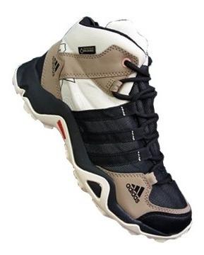 Tenis adidas Bota Ax2 Cafe Hombre Zapatillas Original