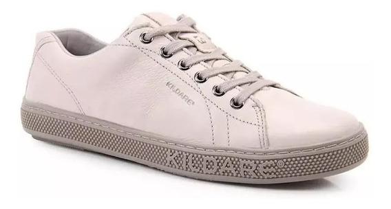 Sapatênis Sapato Masculino Kildare Ru211- Capri Couro