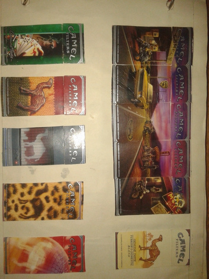 Colección Cajas De Cigarros Primera Parte.