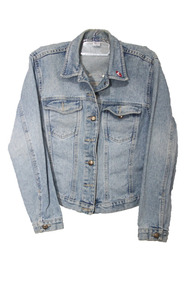 Jaqueta Jeans Rebel Usada Tam. M Relíquia