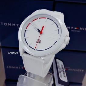 Relógio Tommy Hilfiger 1791623 Silicone Borracha Branco