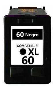 Cartucho Generico 60xl Negro Hp F4280 Hp F4480 Hp D1660 Hp D110 Hp C4780