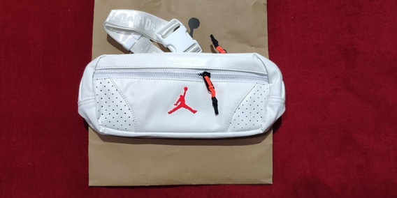 Riñonera Crossbody Jordan Retro 6 White Unicas En Stock