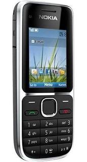 Celular Nokia C2-01 3.2mp, 3g, Cartão 2gb Desbloqueado