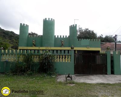 Casa Estilo Castelo A 300 M Da Praia A Venda Em Peruíbe! Excelente Ponto Para Restaurante. - Ca01877 - 2532241