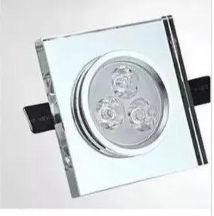 10 Lampada Spot 5w Cristal Espelhada Bran Frio Imbutir/luxo