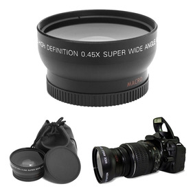 Lente Para Canon Nikon Sony 52 Mm 2.2x Hd (kit Acessórios)