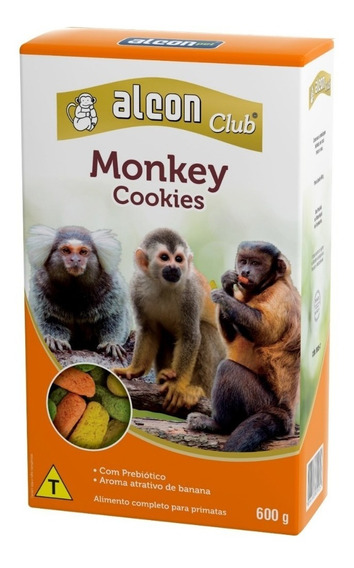 Alcon Monkey Ração P/ Macacos. Sagui Prego Bugio E De Cheiro