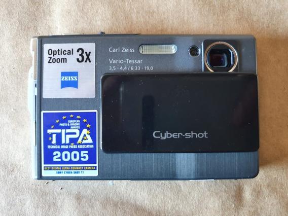 Sony Cybershot Dsc-t7 Edição Limitada Preta Nova Sem Bateria