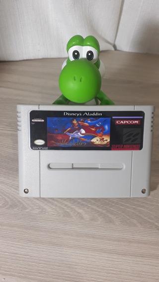 Aladdin Cartucho De Super Nintendo