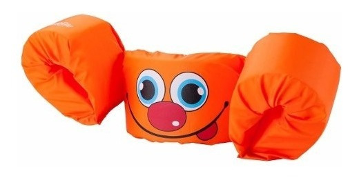 Puddle Jumper Basico Naranja Flotador Chaleco Niños Coleman