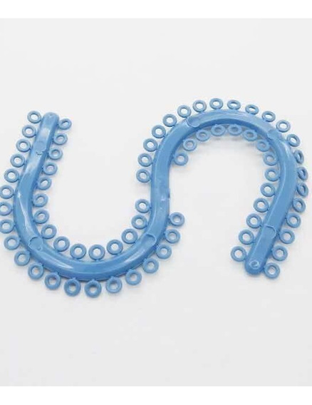 Ligas Separadoras Para Molares. Azules. Envío Gratis