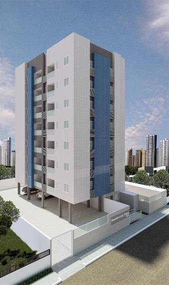 Apartamento Em Bessa, João Pessoa/pb De 61m² 2 Quartos À Venda Por R$ 263.934,00 - Ap211270