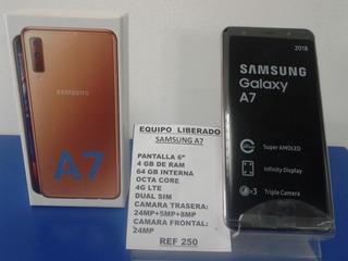 Samsung A7 64 Gb Nuevo Garantia Tienda Fisica Dual Sim