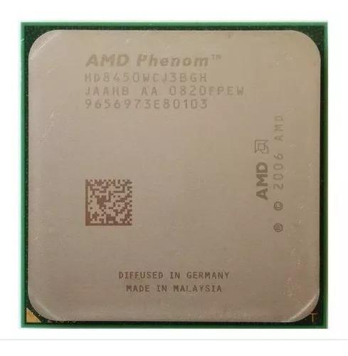 Processador Phenon X3 Tricore 2.1ghz 8450 Am2+ 100% Ok