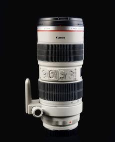 Objetiva Canon Ef 70-200 F/2.8l Is Usm, Praticamente Zero!!!
