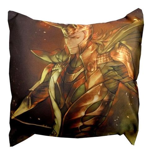 Almohadón De Comics Loki Avengers Thor