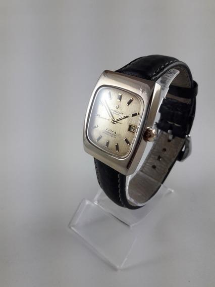 Relógio Omega Constelation Automático Plaque Ouro Vintage
