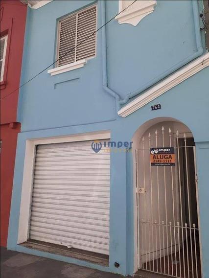 Casa Para Alugar, 120 M² Por R$ 3.700/mês - Pinheiros - São Paulo/sp - Ca1351