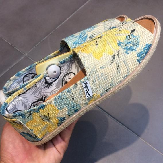 Zapatos Buddhy Originales Para Damas - Bd16041w - Blue