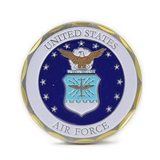 Emblema Y Logotipo La Fuerza Aérea Monedas Coleccionables Lo