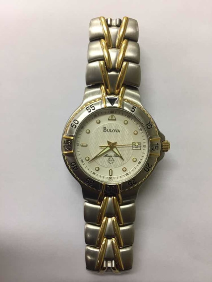 Relógio Bulova Aço Inoxidável