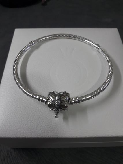 Pulseira Prata S925 Estilo Pandora