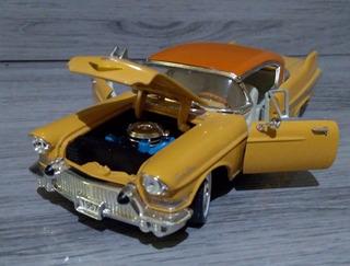 Raro Cadillac De Ville Miniatura 1:34 Abre Portas E Capô