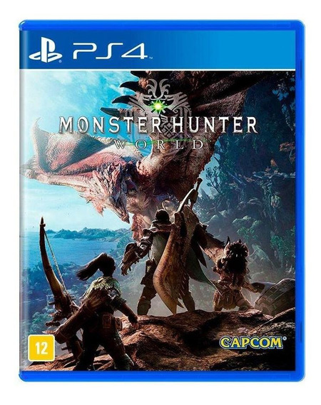 Monster Hunter World Ps4 Mídia Física Novo Lacrado