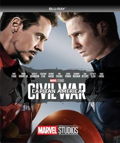 Película Bluray Capitan America: Civil War