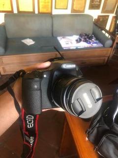 Camara Canon Eos 60d + Maletin + Lente 85mm